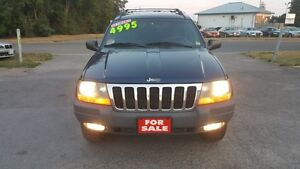 JEEP GRAND CHEROKEE 4X4 *** LOADED SUV *** $4995