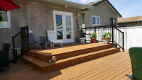 Winnipeg's Top Choice for Decks & Fences! Best Price Guarantee!