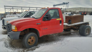 2000 Ford F350 Diesel 4x4 Auto Cab and Chassis