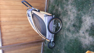 2 in 1 stroller/bike chariot