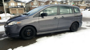 $1500, Mazda 5 2007 including winter tires. Sold as is.