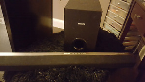 Phillips speaker soundbar and sub woofer *good price*