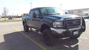 Lifted ford f350 lariat diesel 4x4