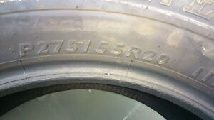TUNDRA 20' DUNLOP TIRES Kawartha Lakes Peterborough Area image 3