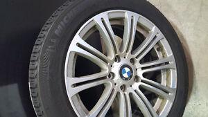 Michelin X-Ice Winter Tires 215/55/17 & Rims