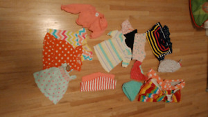 Baby girl 3-6 months 18 items