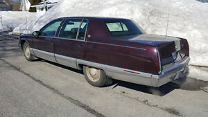 1995 Cadillac Fleetwood CUIR BOURGOGNE Berline