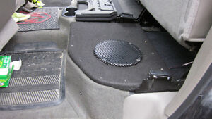 """8"""" sub and sealed enclosure for 08 Ram 1500-3500."""