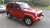 2002 Jeep Liberty Limited VUS seulement 140M km