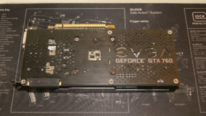 SELLING EVGA GeFORCE GTX 760 2GB SUPERCLOCKED EDITION