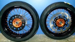 WTB Honda CRF250L supermoto rims SMR wheels