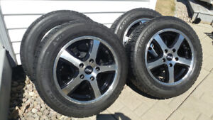 Four Mag's & Winter Tires A Vendre