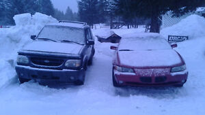 1999 Ford Explorer 4x4 for parts,not running,must be towed