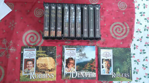 Country Music Cassette Tapes-Lot of 9 -Robbins, Denver & Rogers