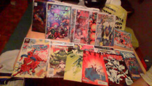 24 Assorted Comic Books To Trade For Tim Hortons Hockey Cards!