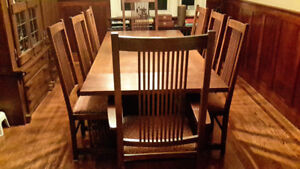 Stickley Mission  Dining Room
