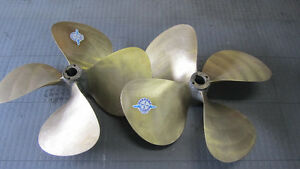 "4 blade propellers,  31"" x 33"" (LH and RH)"