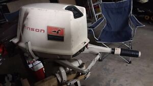 Johnson 5.5hp outboard