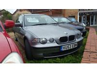 BMW 316 1.8 2003MY ti SE Compact stunning car for year only 8ok miles