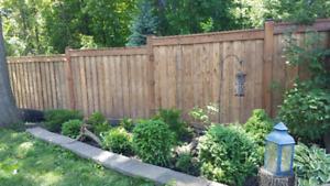 Fence repair service