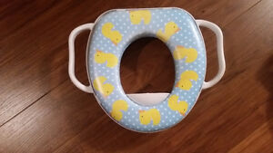 Barely used potty seat   $10 Like new.