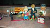 4  1960's Bartenders  Battery Mechanical Operated