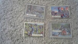 VINTAGE 1962 CIVIL WAR TRADING CARDS