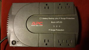 APC Battery Back-Up and charger. $40