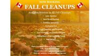 Now Booking Fall Cleanups!