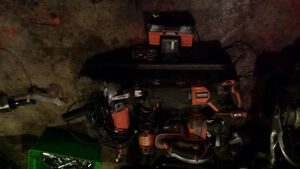 ridgid tools for sell