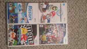 Wii games for sale 25 each