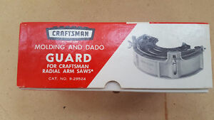 Molding and Dado Blade Guard for Craftsman Radial Arm Saw