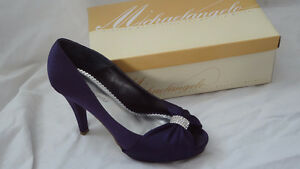 Purple Shoes bought for a wedding