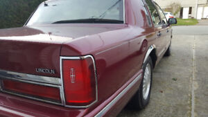 1996 Lincoln Town Car cartier edition Sedan