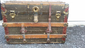 REDUCED Vintage Wooded Trunk and Other