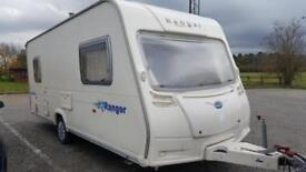 BAILEY RANGER 500/5 BERTH END BED 2006 [COULD MAKE FIXED END BED]