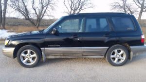 2002 Subaru Forester SUV, Crossover SAFETIED $2900