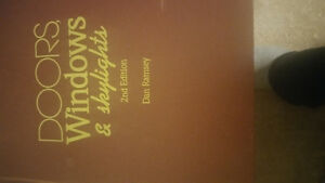 Book for sale: Doors Windows and Skylights Second Edition