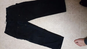 Carhartt double lined work pants  30/40 and 32/38