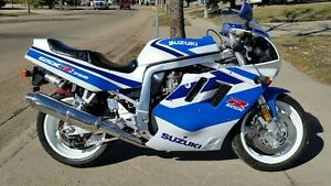 1991 gsxr 750  Trade for vehicle 2008 or newer CONSIDERED.
