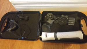 Wahl rechargeable wand massager with 7 attachments