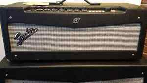Fender Mustang V 150W amp and 4-12 cabinet