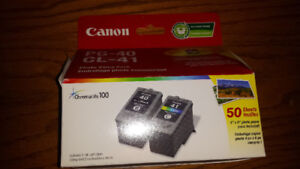 Brand new Canon PG 40 CL 41 ink