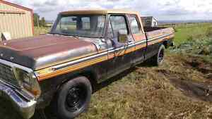 1979 FORD F250 CUSTOM SUPERCAB CAMPER SPECIAL