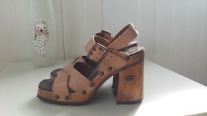 ~ * ~ Tan High Heel Sandals from Transit ~ * ~