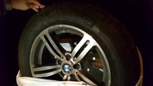BMW rims 255/55 R18, Set of 4 chrome X5 BMW mags