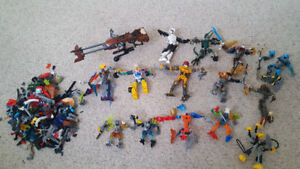 Tons of Lego Bionicle
