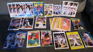 Jose Canseco MLB cards(30)