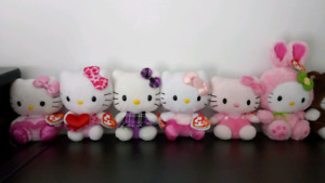 Brand new set of Hello Kitty plush toys