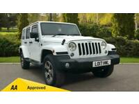 2017 Jeep Wrangler 2.8 CRD Overland 4dr Automatic Diesel 4x4